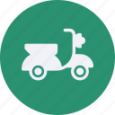 and, car, scooter, service, transportation icon