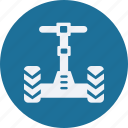 and, car, segway, service, transportation icon