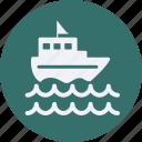 and, car, service, ship, transportation icon