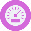 and, car, service, tachometer, transportation icon