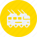 automobile, car, service, tram, transportation, transpot, travel, vehicle icon