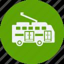 automobile, car, service, transportation, transpot, travel, trolleybus, vehicle icon