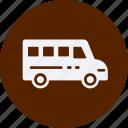 automobile, car, service, transportation, transpot, travel, van, vehicle icon