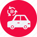 air, and, automobile, car, conditioning, service, transportation, transpot, travel, vehicle icon