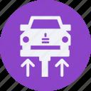 and, autolift, automobile, car, service, transportation, transpot, travel, vehicle icon