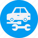 and, automobile, car, repair, service, transportation, transpot, travel, vehicle icon