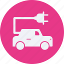 and, automobile, car, electric, service, transportation, transpot, travel, vehicle icon