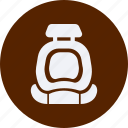 and, automobile, car, safety, seat, service, transportation, transpot, travel, vehicle icon