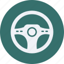 and, car, service, streeing, transportation, wheel icon