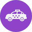 and, car, service, taxi, transportation icon