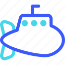 25px, iconspace, submarine icon