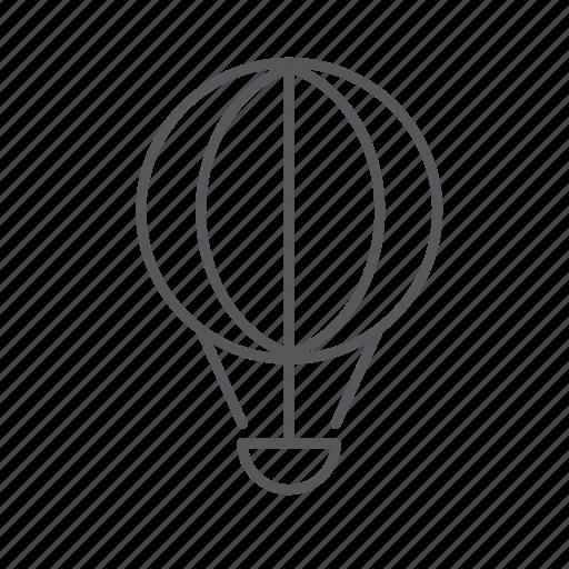air, balloon, fly, hot air balloon icon