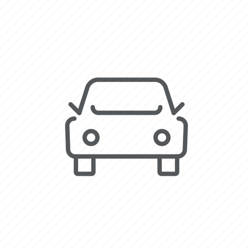 car, front, transport, vehicle icon