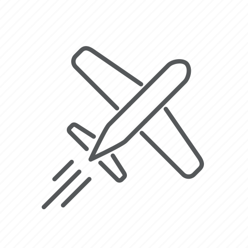 air, airplane, fly, holiday, plane, transport, travel icon
