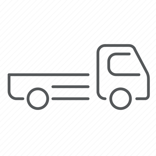 car, construction, delivery, transport, truck, van, vehicle icon