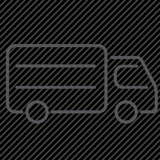car, cargo, delivery, transport, van, vehicle icon