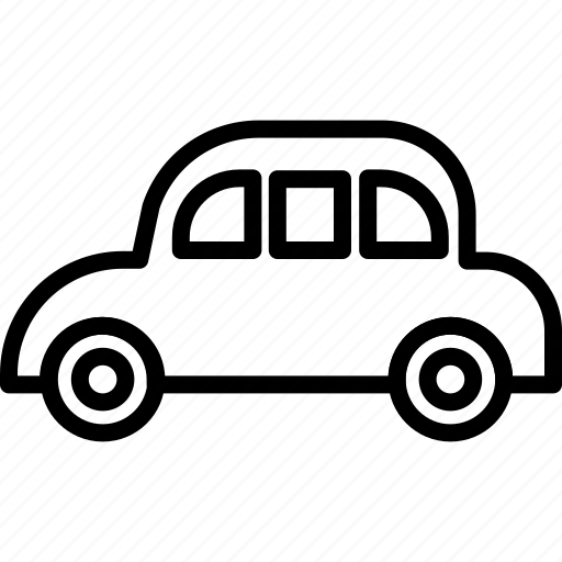 automobile, car, drive, driving, frog car, travel icon