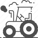 tractor, transport, farm, agriculture, vehicle