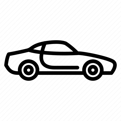 Automobile, car, sportcar, transportation, vehicle icon - Download on Iconfinder