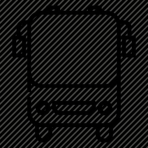 Bus, public transportation, school bus, tour, transportation, vehicle icon - Download on Iconfinder
