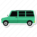 auto, car, minivan, transport, transportation, travel, vehicle icon