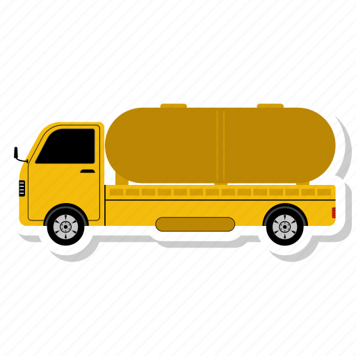 delivery, logistics, oil truck, order, shipment, shipping, truck icon