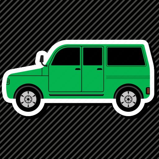 auto, car, minivan, transport, transportation, travel, vehicle icon