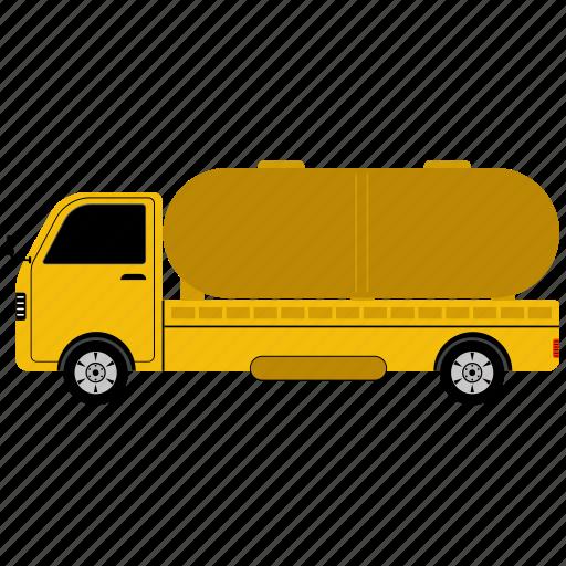 camper van, holidays, oil truck, surfboard, surfing, travel icon