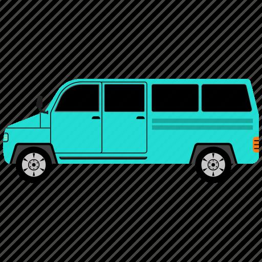 bus, car, school, van icon