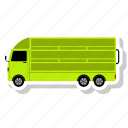 cargo, lorry, transportation, truck icon