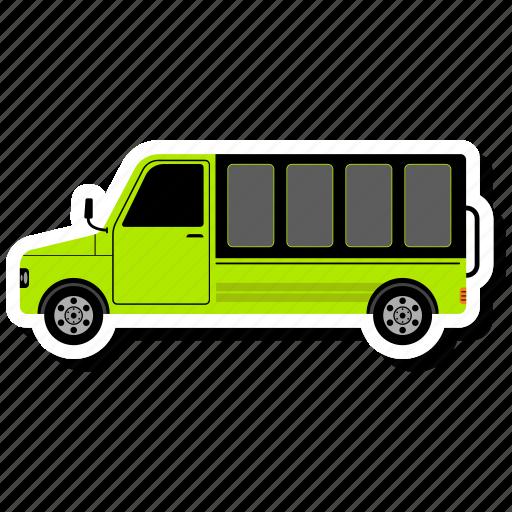 delivery van, logistic, service, van icon