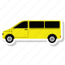 delivery van, logistic, service, van icon
