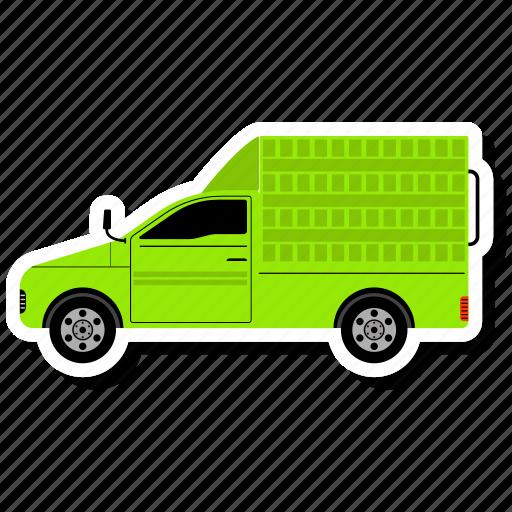 delivery, transport, transportation, van icon
