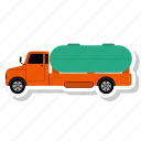 delivery, fast delivery, oil truck, shipping, truck icon
