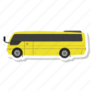 bus, luxury bus, transport, transportation, travel, vehicle icon