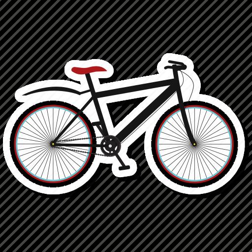 auto, bicycle, transport, vehicle icon