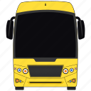 bus, luxury bus, school bus, transport icon