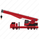 lifter, luggage lifter, tow, tow truck, transport