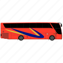 bus, luxury, school, transport, transportation, university, vehicle icon