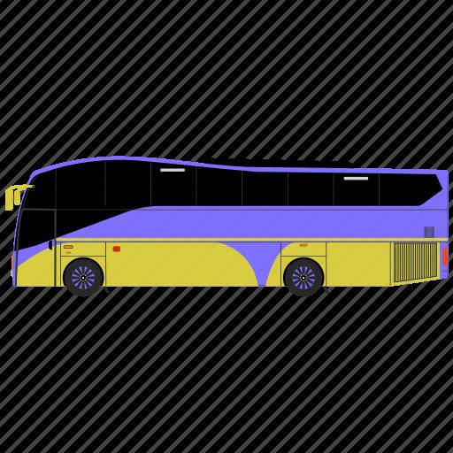 bus, luxury bus, motor coach, tour bus, tour coach, van icon