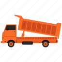 delivery, delivery truck, lorry, transport, truck