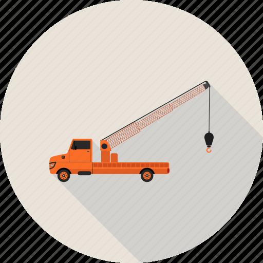 loader, quarry, transport, vehicle icon