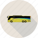 autobus, bus, coach, transport icon