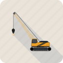 crane, dodge, truck icon