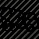 concrete, mixer, truck, auto, vehicle, service icon