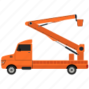 crane, equipment, machinery icon