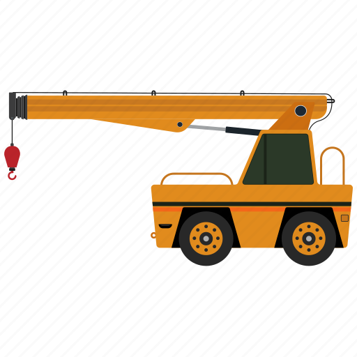 building, construction, construction machinery, crane, equipment icon
