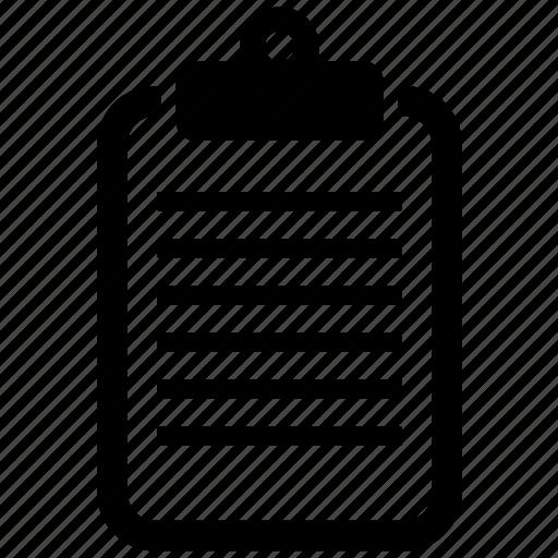 bill, document, invoice, list, order icon