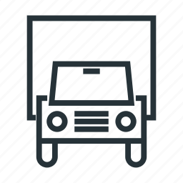 car, delivery, transport, truck icon