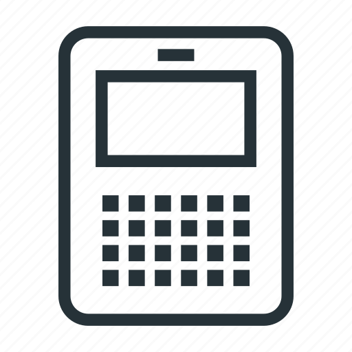 keyboard, mobile, phone, qwerty, smartphone icon